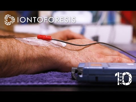 Ver en youtube el video Iontoforesis