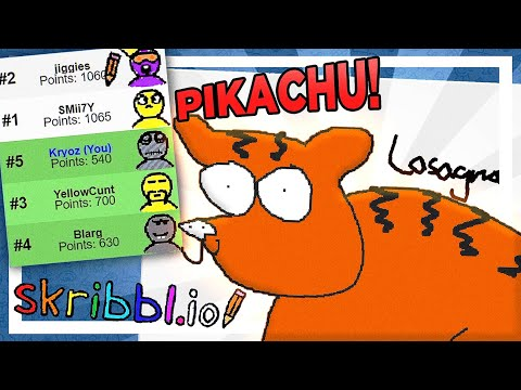 Skribbl.io moments that make you unsure about reality, and question if its all just a string of code