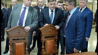 В.Макаров принял участие в открытии нового производства «Первой мебельной фабрики»(, 2017-05-19T12:44:19.000Z)
