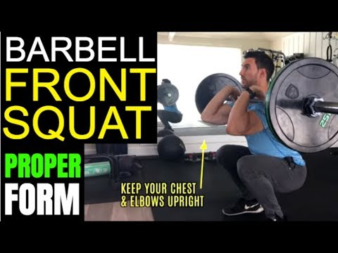Barbell Front Raise – An Entire Guide With Form Tips