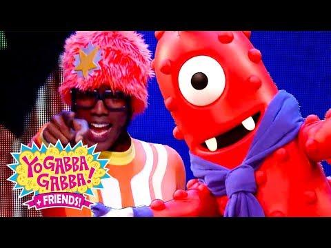 Yo Gabba Gabba! Family Fun - YO GABBA GABBA Friends Dance | Kids Songs | DJ LANCE ROCK | BABY SONGS