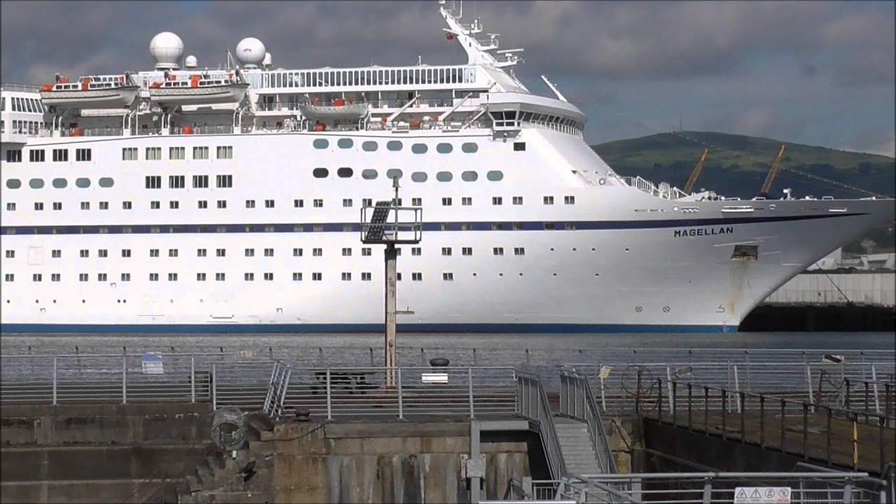 The Cruise Ship MAGELLAN Arrives Into Belfast YouTube - Magellan cruise ship