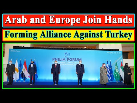 Arab and Europe Join Hands and Forming Alliance Against Turk