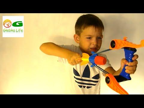 Воздушный снайпер. Игрушки для мальчиков: рогатка. Air sniper . Детский канал.
