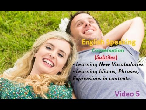 Practise Speaking English via real conversation P5