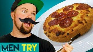 Men Try Cheap vs Expensive Taste Test - Personal Pizza