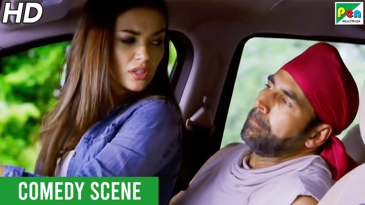 Download एमी जैक्सन - अक्षय कुमार Funny Car Chase Scene | Singh Is Bliing | Lara Dutta, Akshay Kumar, Amy