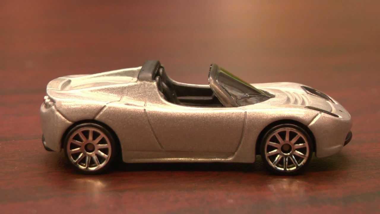 Cgr garage 2008 tesla roadster hot wheels review