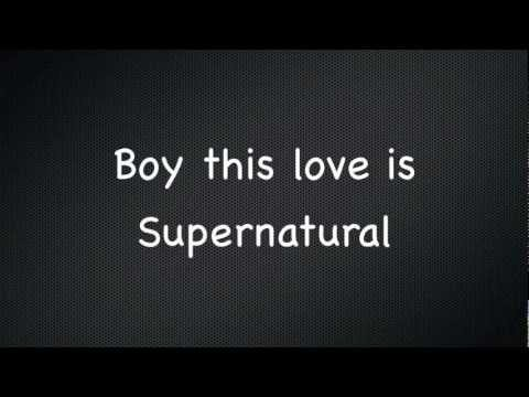 Kesha Supernatural lyrics new 2012 full song
