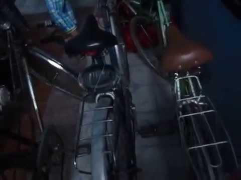 đèn xi nhan xe đạp ( đã lắp)