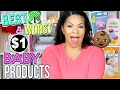 10 THINGS YOU SHOULD BUY AT DOLLAR TREE | BEST & WORST BABY CARE PRODUCTS FOR $1