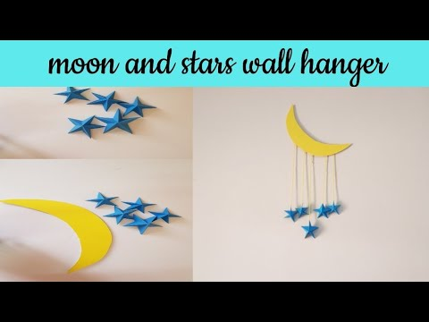 Wall Hanger For Easy Decoration/Diy Paper Craft Idea/Paper Star/Malayalam/Art4 you