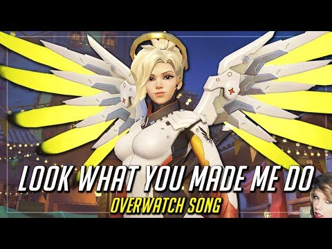 "Overwatch Song – Taylor Swift ""Look What You Made Me Do"" Parody"