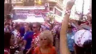 stephanplatz croatia fans euro 2008