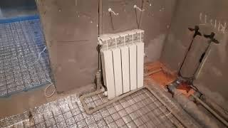 отопление дома,коттеджа 200кв.м 2 этажа. установка котла лемакс 20кв.бездымоходного.