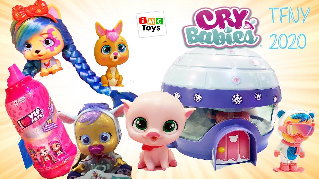 New York Toy Fair IMC Toys New Cry Babies Fantasy, Pets Wave 2, I LOVE PETS Longest Hair Ever! #TFNY