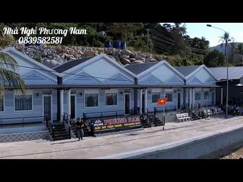 Nhà nghỉ Phương Nam - HÒN SƠN đẹp tuyệt vời từ trên cao. Gốc quay flycam