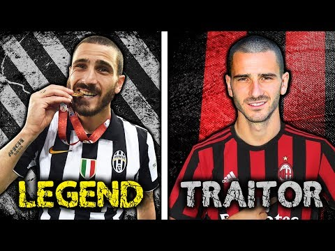 Is Leonardo Bonucci A Traitor For Joining AC Milan?! | #StatWarsTheChampions
