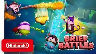 Brief Battles - Launch Trailer - Nintendo Switch