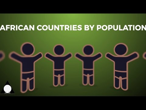 African Countries By Population