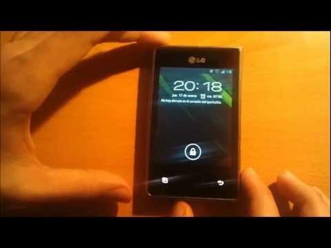 Review en Español LG Optimus L3 e400//Cyanogenmod 9.0 Root