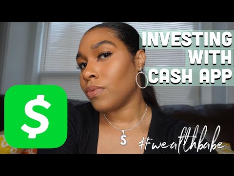 INVESTING WITH CASH APP (START INVESTING IN 3 EASY STEPS) | Sache Collier #wealthbabe