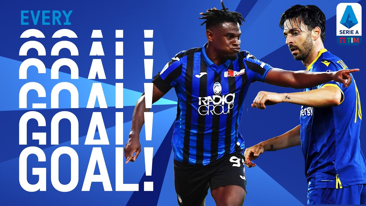 Doubles for Zapata and Di Carmine as the League Returns!   EVERY Goal R25   Serie A TIM