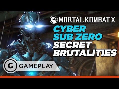 Cyber Sub Zero's Secret Brutalities - Mortal Kombat XL