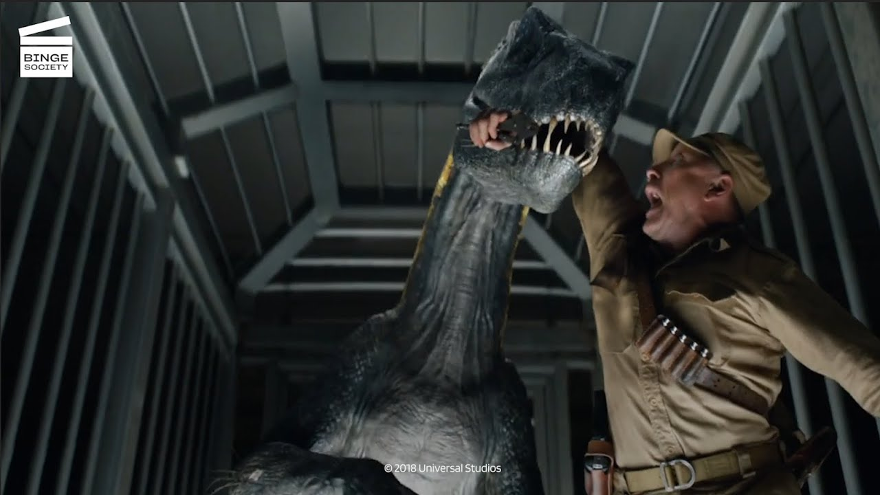 Download Jurassic World - Fallen Kingdom : La mâchoire de l'Indoraptor CLIP HD