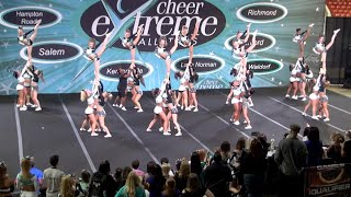 Cheer Extreme Sr Elite XEvolution 2015