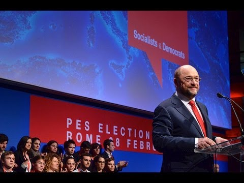 Martin Schulz's first speech as PES Common Candidate