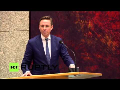 LIVE: Dutch parliament to debate on consultative EU-Ukraine referendum