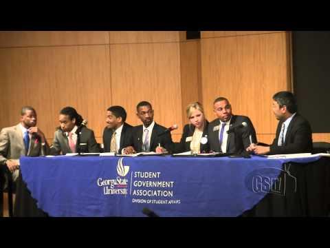 SGA Candidate Debate 2013