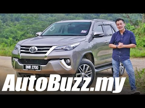 2016 Toyota Fortuner 2.7 SRZ SUV review - AutoBuzz.my