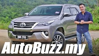 2016 Toyota Fortuner 2.7 SRZ SUV review - AutoBuzz.my