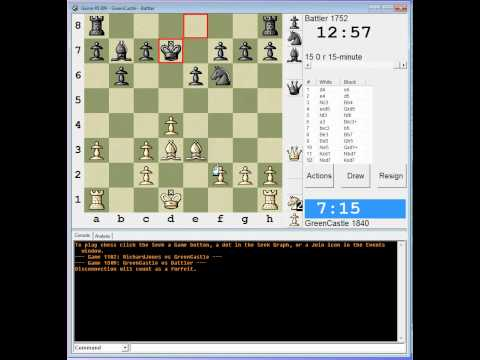 Chess: Live Standard game 2