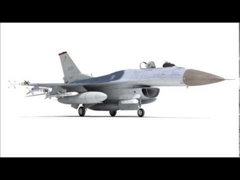 F16 3D Model   Aircraft 3D Models   max, 3ds, c4d, obj, lwo