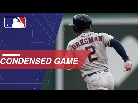 Condensed Game: HOU@BOS - 9/8/18