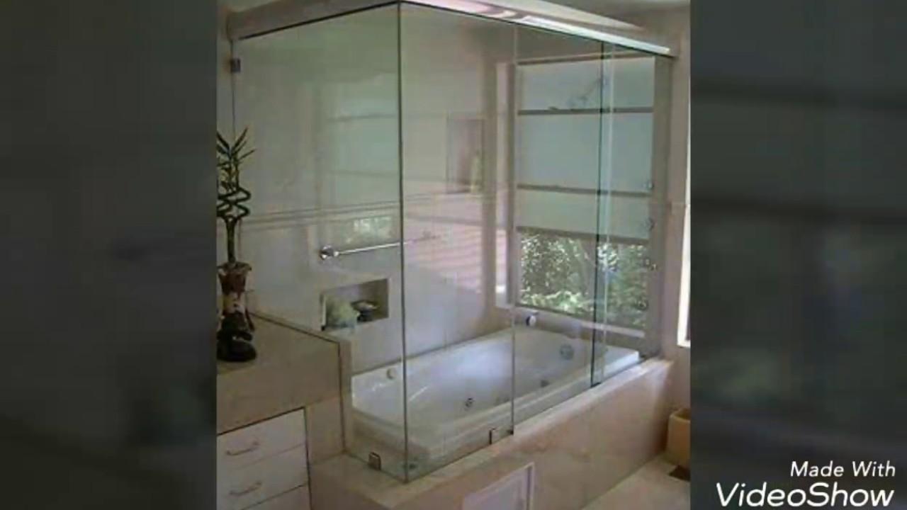 Canceles para ba o de vidrio y aluminio cristark for Banos modernos con guardas de vidrio
