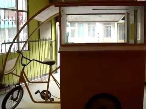 Triciclos para comidas rapidas youtube for Mesas para negocio comidas rapidas