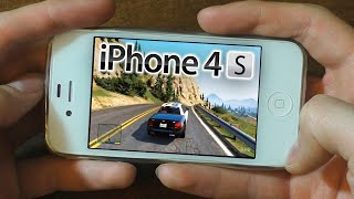 iPhone 4S iOS 9.3.5 - Gaming test (2019)