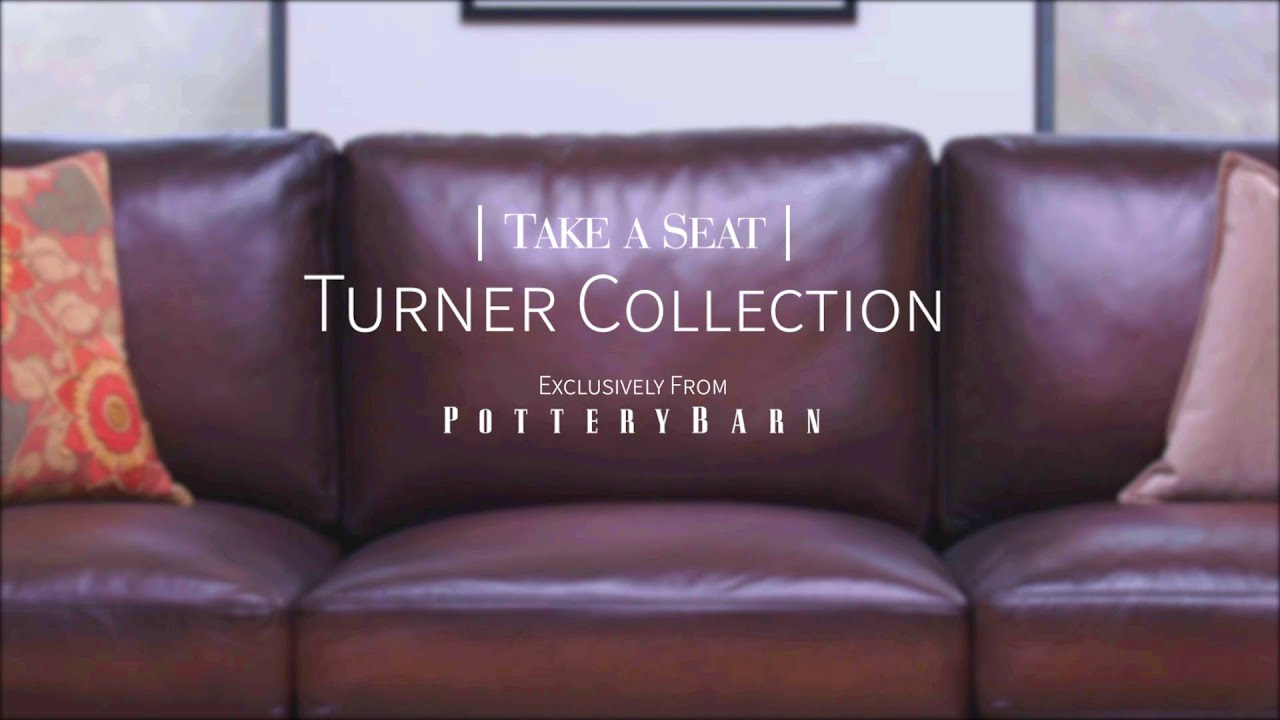 Take A Seat | Turner Square Arm Leather Sofa