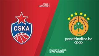 CSKA Moscow - Panathinaikos OPAP Athens Highlights | Turkish Airlines EuroLeague, RS Round 17