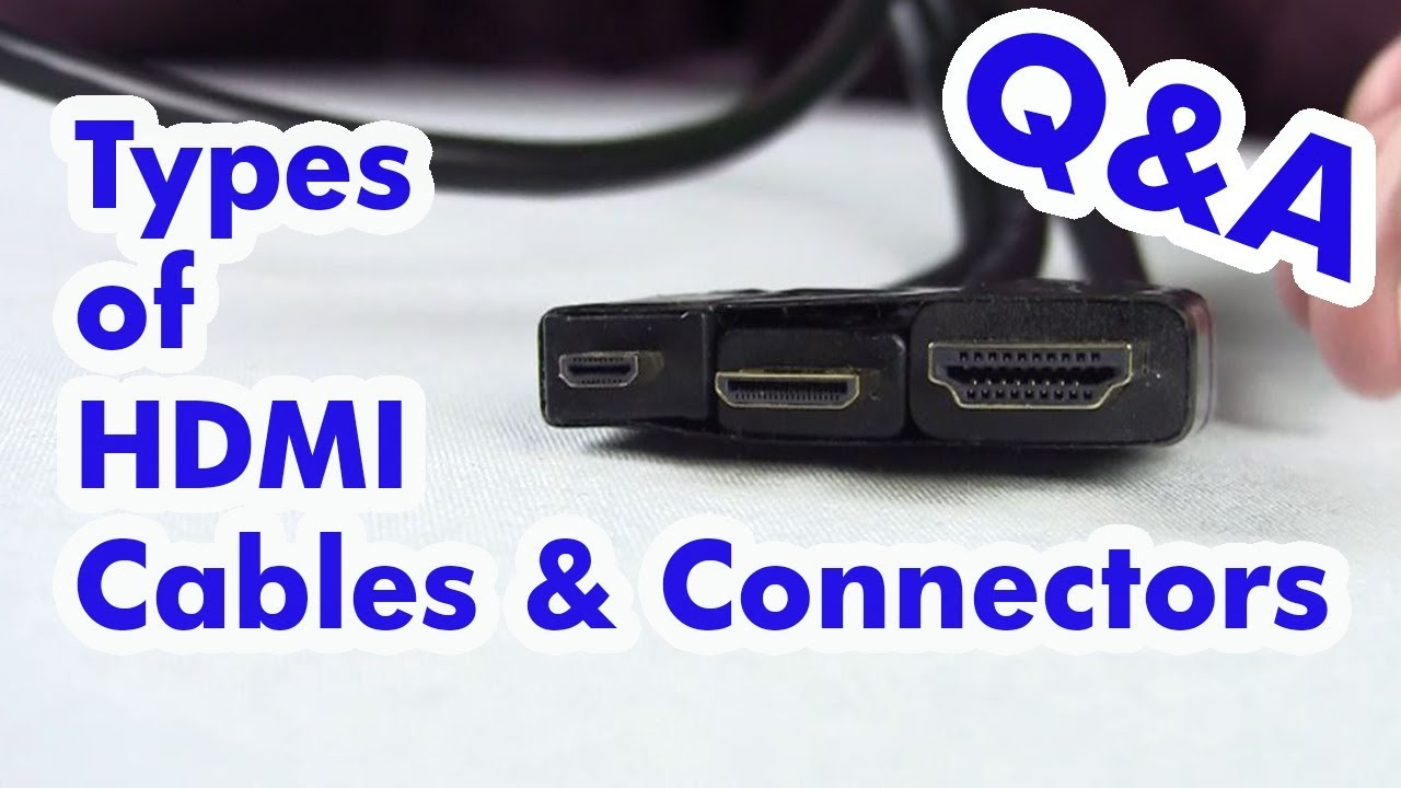 hight resolution of which hdmi cable is right for your device standard micro mini hdmi
