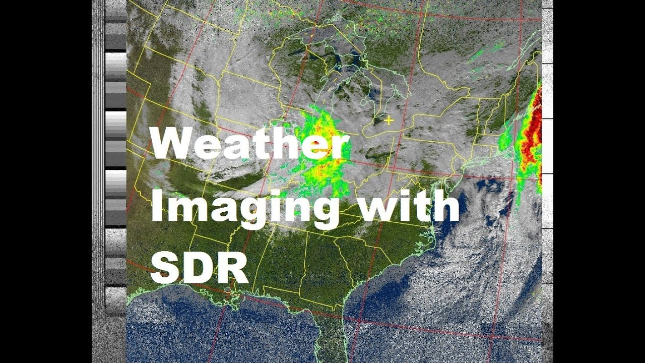 Receiving NOAA Weather Satellite Images With USB SDR Device - Noaa world satellite map