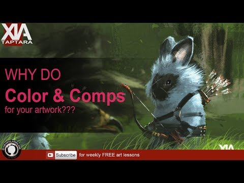 why do color and composition for artwork