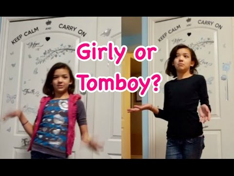 Thumbnail: TOMBOY VS GIRLY GIRL - MORNING ROUTINE