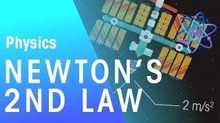 Newton's Second Law   Foŗces & Motion   Physics   FuseSchool