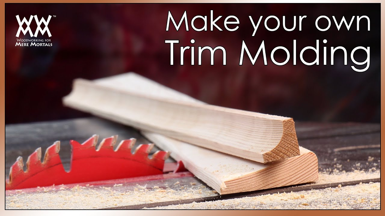 Beautify your home with custom trim molding save money by for Build your own window