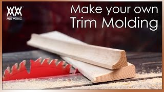beautify your home with custom trim molding save money by making your own